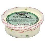 All Natural Cream Cheese Spread, Low Fat, Scallion