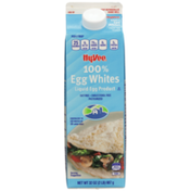 Hy-Vee 100% Egg Whites Liquid Egg Product
