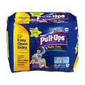 Huggies Pull-Ups Huggies Pull Ups Training Pants Night Time Extra Absorbency Glow in the Dark 3T-4T - 46 CT