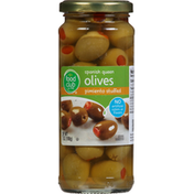 Food Club Olives, Spanish Queen, Pimiento Stuffed