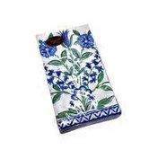 Caspari Blue Ceramica Paper Guest Towels