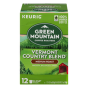 Green Mountain Coffee K-Cup Pods Vermont Country Blend