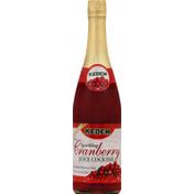 Kedem Juice Cocktail, Sparkling, Cranberry