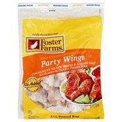 Foster Farms Chicken Wing Sections, Party Wings, Bag