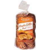 Rothbury Farms Grandpa's Oven Pumpkin Cobbler Bread Swirled With Cinnamon, Allspice And Nutmeg