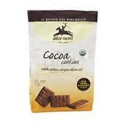 Alce Nero Cocoa Cookie With Extra Virgin Olive Oil