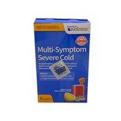 Family Wellness Multi-Symptom Severe Cold Packets