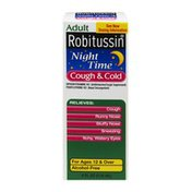 Robitussin Adult Night Time Cough & Cold Syrup