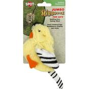 SPOT Skinneeez for Cats, Jumbo, Goldfinch