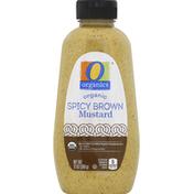 O Organics Mustard, Organic, Spicy Brown