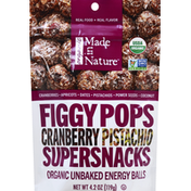 Made In Nature Figgy Pops, Cranberry Pistachio, Supersnacks