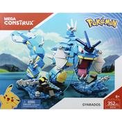 Mega Construx Toy, Pokemon, Gyarados