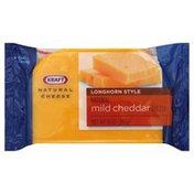 Kraft Cheese, Longhorn Style, Mild Cheddar