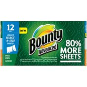 Bounty Select-A-Size Paper Towels, White, 12 Rolls Towels/Napkins
