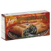 Amy's Kitchen Pocket Sandwich, Spinach Feta