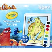 Crayola Watercolor Art Set, Disney Pixar Finding Dory