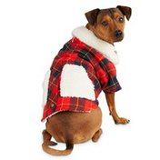 Bond Extra Extra Small Camp Sherpa Trimmed Plaid Jacket