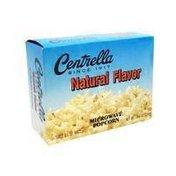 Centrella Natural Flavor Microwave Popcorn