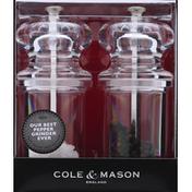 Cole & Mason Grinder Set, Pepper & Salt