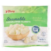 Tops Frozen Steamable Cauliflower Florets