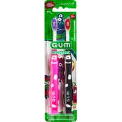 GUM Toothbrush, Monsterz, Soft, Junior