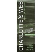 Charlotte's Web Hemp Extract Oil, Full Strength, Mint Chocolate Flavor
