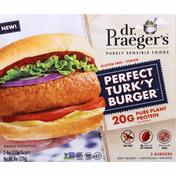 Dr. Praeger's Perfect Turk'y Burger
