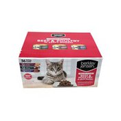 Berkley Jensen Grilled Beef & Poultry in Gravy Variety Pack for Cats