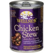 Wellness Chicken Stew With Peas & Carrots Canned Dog Food for Adult Dogs