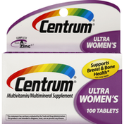 Centrum Multivitamin/Multimineral, Ultra Women's, Tablets