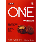 One Protein Bar, Flavored, Peanut Butter Cup