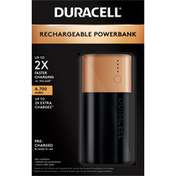 Duracell Powerbank, Rechargeable, 6,700 mAh