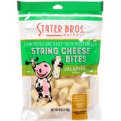 Stater Bros. Markets String Cheese Bites, Part-Skim, Jalapeno, Low-Moisture