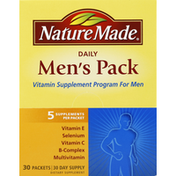 Nature Made Men's Pack, Daily, Packets