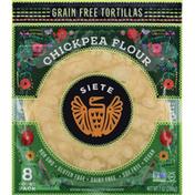 Siete Tortillas, Grain Free, Chickpea Flour
