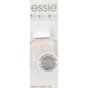 Essie Nail polish & strengthener in a blush, cream finish