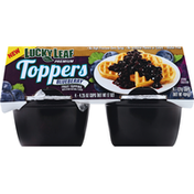 Lucky Leaf Toppers, Premium, Blueberry