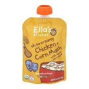 Ella's Kitchen Oh So Creamy Chicken + Corn Mash Organic Baby Food