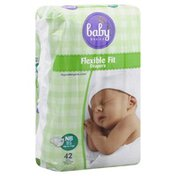 Baby Basics Diapers, (Up to 10 lb), Newborn