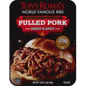 Tony Roma's Pulled Pork, Sweet & Spicy