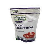 Shoprite Whole -some Pantry Organic, Sliced Strawberries