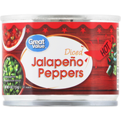 Great Value Jalapeno Peppers, Hot, Diced