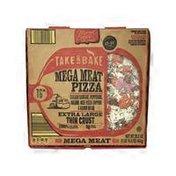"""Mama Cozzi's Pizza Kitchen 16"""" Thin Crust Mega Meat Deli Pizza"""