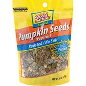GoodSense Pumpkin Seeds, Roasted/No Salt, Shelled