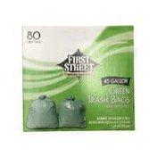 First Street Trash Bags, Twist Ties