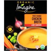 Imagine Low Sodium Free Range Chicken Broth