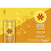 Izze Fusions Orange Mango Sparkling Beverage