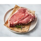 Bone-In Natural Beef USDA Choice T Bone Steak
