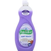 Palmolive Dish Liquid, Soft Touch, Almond Milk & Blueberry Scent