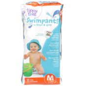 Tippy Toes Baby Swimpants For Boys & Girls, M 24-34 Lb